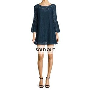 Elizabeth and James Glorietta 3/4 Sleeve Dress